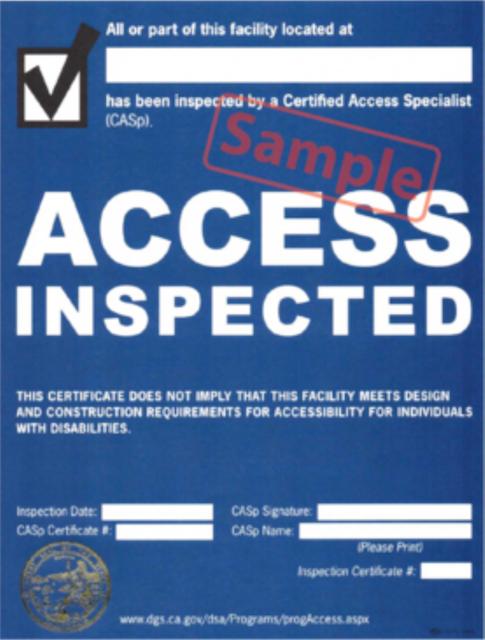 CASp Certificate